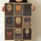 Movie Characters Vintage Poster Gift