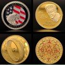 Vinatge Frame Design American Gold Coins