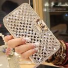 Luxury Crystal & Diamond Leather Flip Case And Covers iPhone 6 4.7 & Plus 5.5