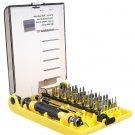 45 Pcs Multi-Used Tools Repair + Screw Drivers Kit Home Tool Kit Set