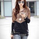 Women Casual Top Blouse Shirt Large Size