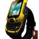 21ST-Generation Design Touch Screen Digital Dual Sim Smartphone Wrist-Watch