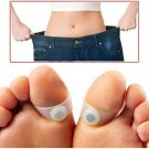 Toe ring sticker silicon foot massage feet loss Weight