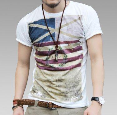 Men Summer Tops Tees Short Sleeve t shirt
