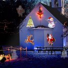 Santa Christmas Projector Outdoor Led Lamp.