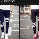 Free Shipping Men Jogger Pants Comfortable Cotton Patchwork