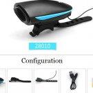 Free Shipping Bicycle Bell USB Charging Bike Horn Light Headlight