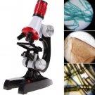 Kids Educational Microscope Kit Sciene Lab LED 2018