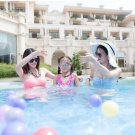 Free shipping 366*76cm Giant Size Blue Inflatable Swimming Pool 2019