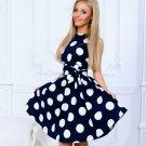 Women Summer Vestidos Full-neck Dress 2018