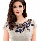 free ship Womens embroidery Elegant Vintage Dobby Dress 2018/Medium/Large