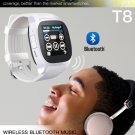 free ship T8 Bluetooth Smart+Camera Music Player Watch