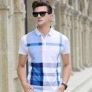free ship Men Cotton Casual Shirt solid long Short Sleeve sleeve-18 Medium/Large/Xl/XXL Sizes