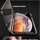 360 Metal Magnetic Phone Case For  11 Pro Max Case For  XR X XS Max 6 6S 7 8 Plus