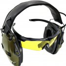 Electronic Shooting Earmuffs Anti-noise Sound Amplification Sightlines Earpads