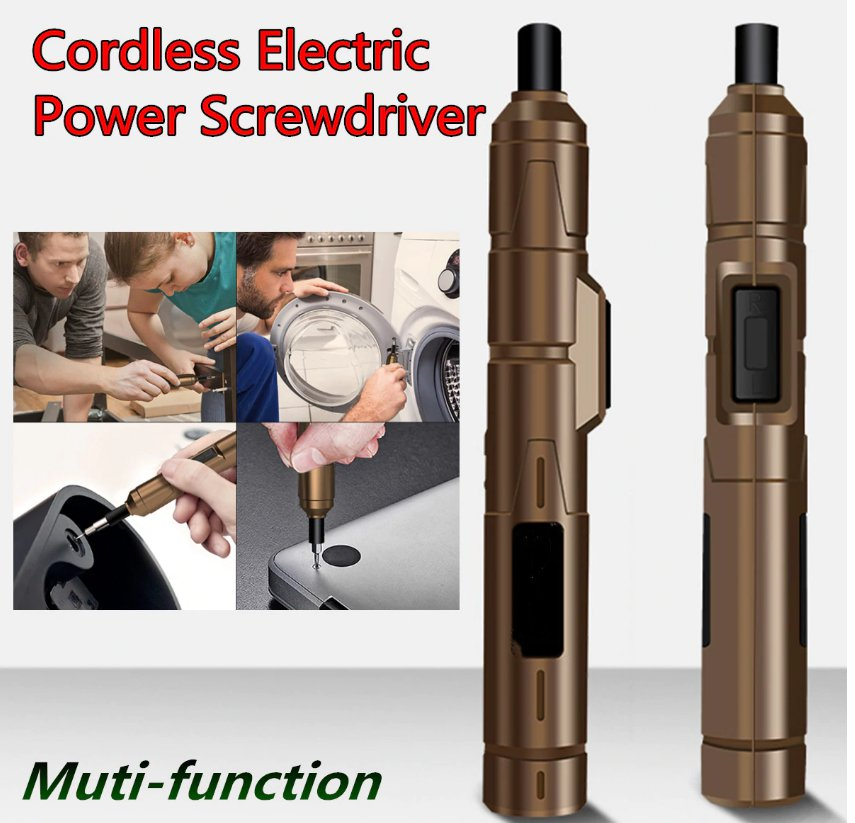 NEW DC 3.6V 13NM Super Power Mini Electric Screwdriver 1300AMH Lthium Battery Power
