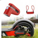 Electric Scooter Anti-Theft Wheels Disc Brakes Lock with Steel Wire