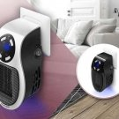 500w 220v Portable Plug-in Electric Wall-outlet Space Heater Fan