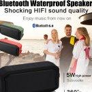 Bluetooth Speaker Outdoor Portable Waterproof IPX7 Wireless Bluetooth 5.0 Speaker