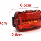 1Pcs Bicycle Light Colorful Night Riding Highlight Safety Warning Lights