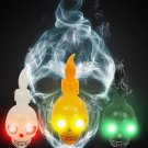 Decorations Horror Props Creative Skull Ghost color Halloween Supplies Props LED Candles