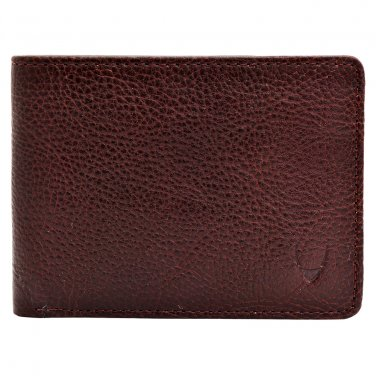 Hidesign Giles Slim Vegetable Tanned Leather Wallet Brown