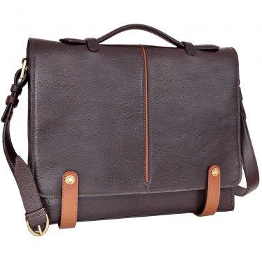 Hidesign Eton Slim Briefcase Brown