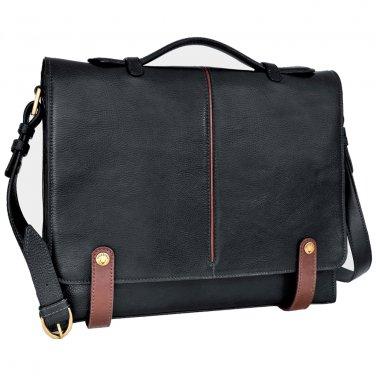 Hidesign Eton Slim Briefcase Black