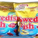 EXTRA LARGE 3.5 LB. BAG SWEDISH FISH SOFT CHEWY FAT FREE CANDY  FREE SHIPPING!