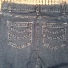 "FREE SHIPPING CHRISTOPHER & BANKS STRETCH WOMEN'S JEANS SIZE 6P, 29"" WAIST 28"" L"