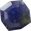 NICE 11.6 CT ALL Natural  Violet Blue Tanzanite Cut TAN2298 FREE SHIPPING!