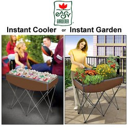 QUICK AND EASY GARDEN  COOLER The Instant Garden Dry Sink FREE SHIPPING!