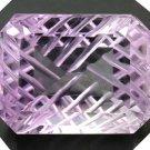5.1CT Natural American Cut Semi-open Shutters Light Purple Amethyst AMCT1148