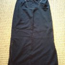 """MIKEN CLOTHING CO. BLUE WOMEN'S SKIRT SIZE M. 3O"""" W 37"""" L FREE FAST SHIPPING!"""