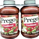 CAMPBELL'S PREGO SPAGHETTI SAUCE LARGE 2 PACK, 8 LBS 6 OZ. TOTAL FREE SHIPPING!