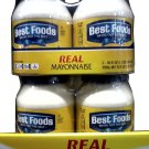 BEST FOODS MAYONNAISE 2 BOTTLE PACK 36 OZ. EA. FREE SHIPPING!