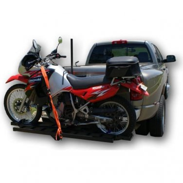 NEW! Steel Motorcycle Carrier Ramp 600lb. CAPACITY FREE SHIPPING!