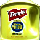 FRENCH'S MUSTARD LARGE COMMERCIAL SIZE 105 OZ. MUSTARD FREE SHIPPING!
