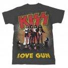 NEW! KISS 77 Love Gunner T-Shirt SIZE MEDIUM Officially licensed
