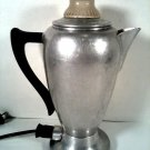 VINTAGE COMET ELECTRIC PERCOLATOR 8 CUP COFFEE MAKER POT 9232C FREE SHIPPING!