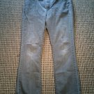 """RIDERS BY LEE WOMEN'S STRETCH JEANS BOOT CUT GREY  37"""" W. 31"""" INSEAM"""