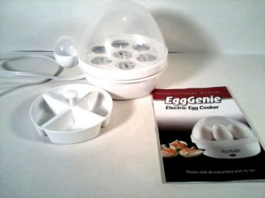 EggGENIE ELECTRIC EGG COOKER FREE SHIPPING!