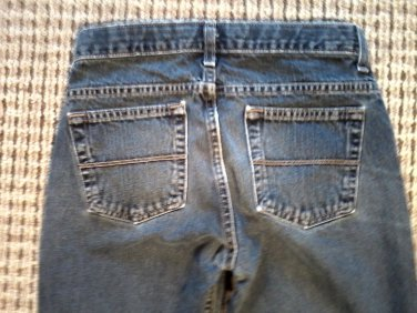 "ARIZONA WOMEN'S JEANS 12 REG. 25"" WAIST 26"" L. COTTON FREE FAST SHIPPING!"