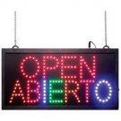 OPEN /ABIERTO PROGRAM LED SIGN LED LIGHTS BUSINESS STORE Mitaki-Japan FREE SHIP