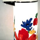 VINTAGE EVEREST FLORAL COFFEE HOT DRINK AIRPOT MADE IN JAPAN FREE SHIPPING!