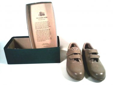 SAS ME TOO MOCHA HAND CRAFTED SHOES MADE IN USA 7.5 N. FREE SHIPPING!