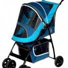 PET GEAR Sport Pet Stroller Blue Lightweight front shock absorbers FREE SHIPPING