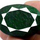 217 CT Big Huge Natural Oval Shape Green Emerald Gemstone FREE SHIPPING!