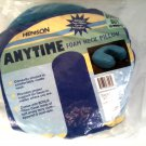 NEW ANYTIME FOAM NECK PILLOW NEW IN PACKAGE, BONUS COVER