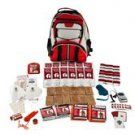 2 Person Guardian Survival Kit EMERGENCY BUG OUT Multi-pocket Hikers Backpack